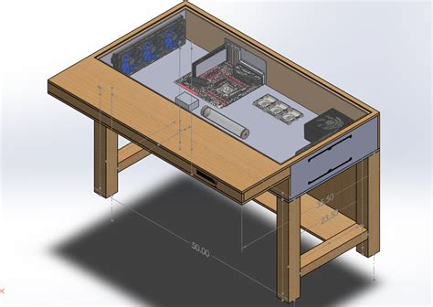 What Is The Word For Desk by Pc Desk Mod Computer Inside Desk