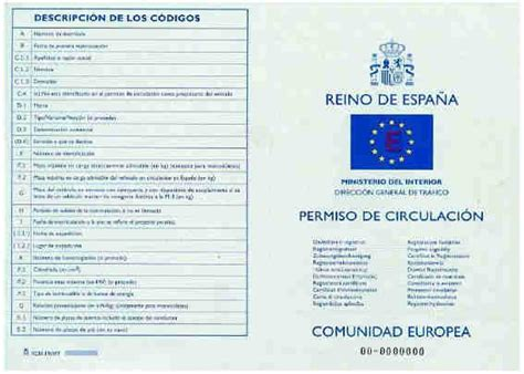permiso de circulacion el bosque permiso de circulaci 243 n de la moto