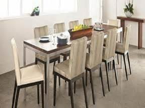 Narrow Dining Room Table Dining Room House Designing Ideas