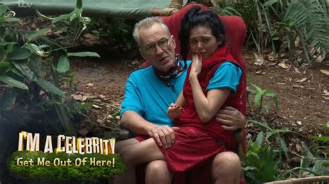 celebrity jungle 2017 youtube scarlett moffatt breaks down in tears on larry s lap i m
