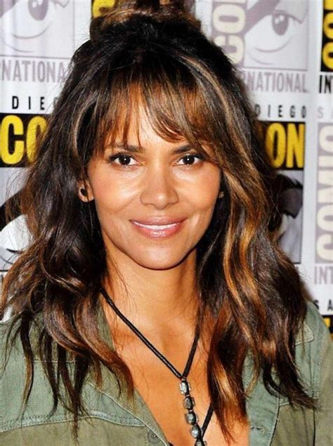 long hairsylers black women for 28y of age how old is halle berry