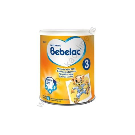 Bebelac 3 200 Gram bebelac mleko 3 400 gr nutricia hrana apoteka 629 dinara prodaja