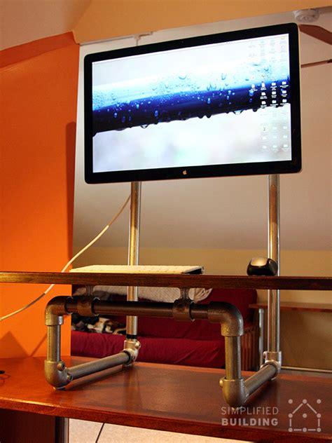 diy standing desk converter diy standing desk converter step by step plans