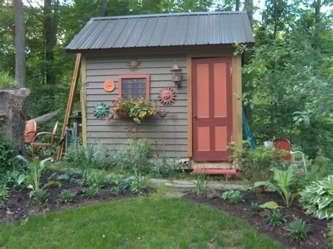 Shed In Backyard by Garden Sheds This Garden Shed Is Made Unique By