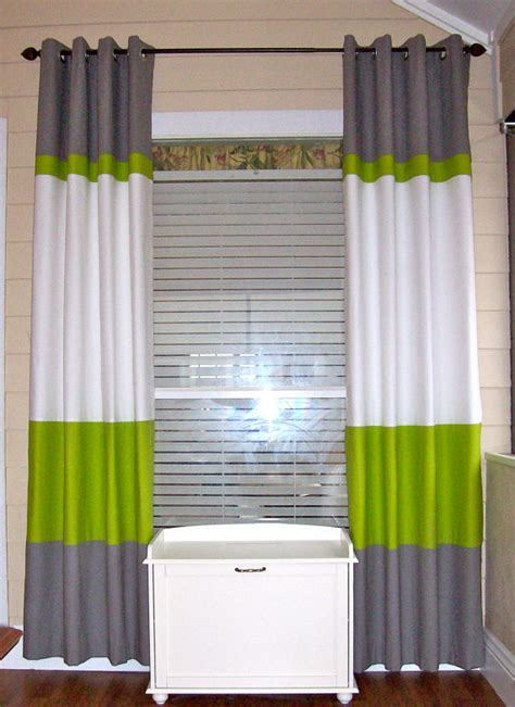 color block drapery panels color block curtain panels 50 x 84 by sewdivinebyamanda on