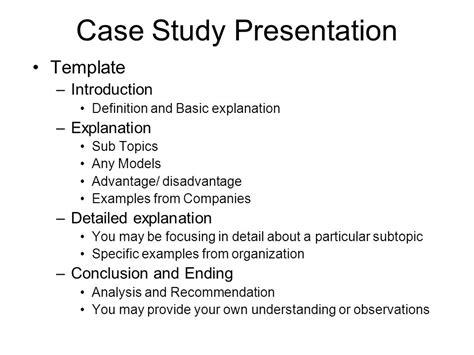 case study presentation ppt video online download