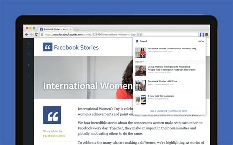 www facebook com facebook now has save and share extensions for chrome