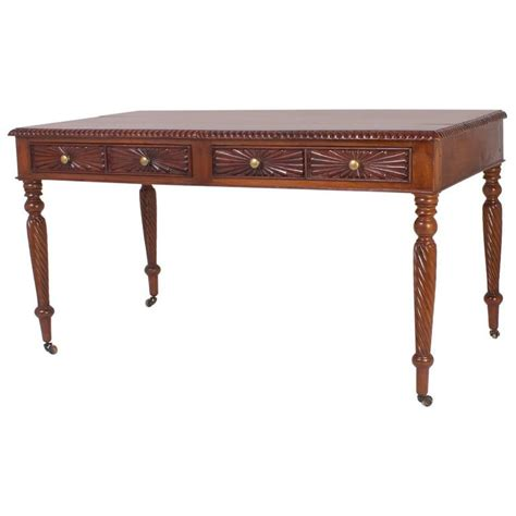 19th Century British Colonial Writing Desk Or Library Colonial Desk