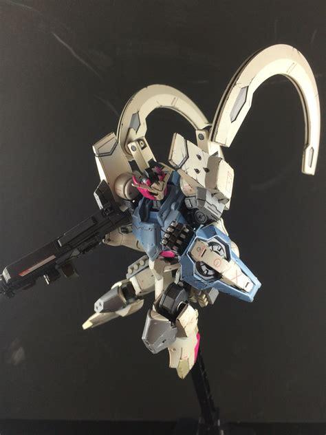 Gundam Mobile Suit 66 custom gunpla gundam kimaris kitbash asw g 66 gundam