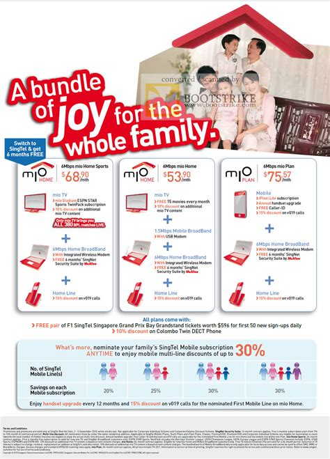 singtel mio home sports plan line broadband mobile comex