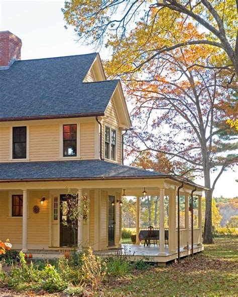 wrap around farmhouse plans with wrap around porches