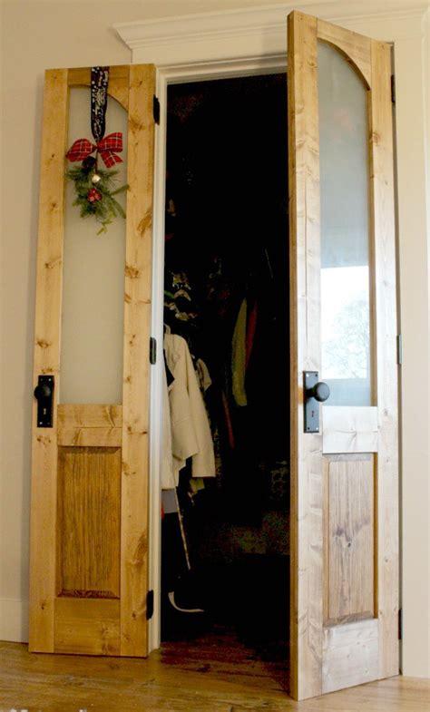 closet door makeovers thatll give  closet envy