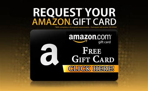 Free Amazon E Gift Card - earn free amazon gift cards