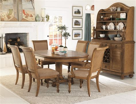 Island Inspired Dining Room Furniture American Drew Grand Isle Island Inspired Woven Back Dining