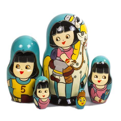 Russian Dolls The New Butterflies Owlsbirds And by Matryoshka Doll 5 Pc Product Sku S 146061