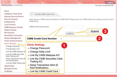 Letter Of Credit Cimb Bank cimb clicks for cards