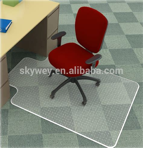 acrylic desk mat custom size factory price custom chair plastic mat for office buy