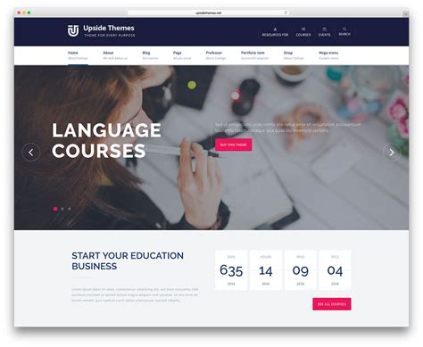 online tutorial website templates 32 awesome responsive wordpress education themes 2018