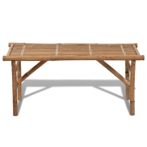 folding benches vidaxl co uk vidaxl bamboo folding bench