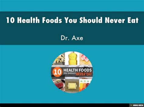10 Foods Should Eat More by 10 Health Foods You Should Never Eat