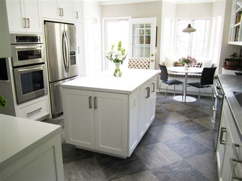 white kitchen floor tile ideas white kitchen grey floor tile home interior design