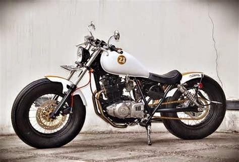 Knalpot Custom Scrambler Untuk Motor Bebek modifikasi motor suzuki thunder 250 ala brat bobber
