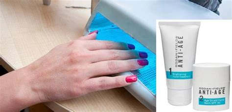 light spots on back gel manicures are great but the uv light can cause age