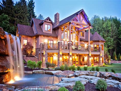 Luxury Cabin by Log Cabin Luxury Mansions Log Cabin Mansions Floor Plans
