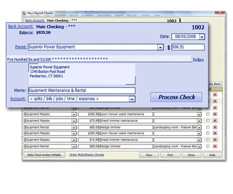 Checksoft Home And Business by Bookkeeper 15 Avanquest
