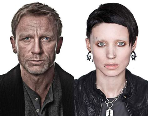 dragon tattoo cast the girl with the dragon tattoo cast pictures popsugar