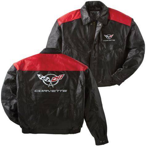 corvette black red lambskin bomber jacket corvette