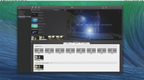 imovie templates best imovie trailer templates recomhub
