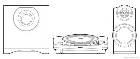 sanyo dc pt100 manual dvd home theatre system hifi