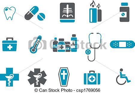 Clip Art De Vectores De Conjunto Salud Icono Vector | clip art de vectores de conjunto salud icono vector