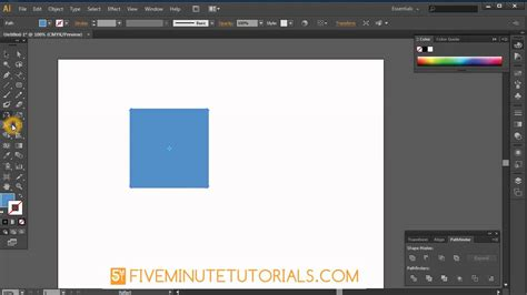 illustrator tutorial rotate tool adobe illustrator rotate scale shear and reflect tool