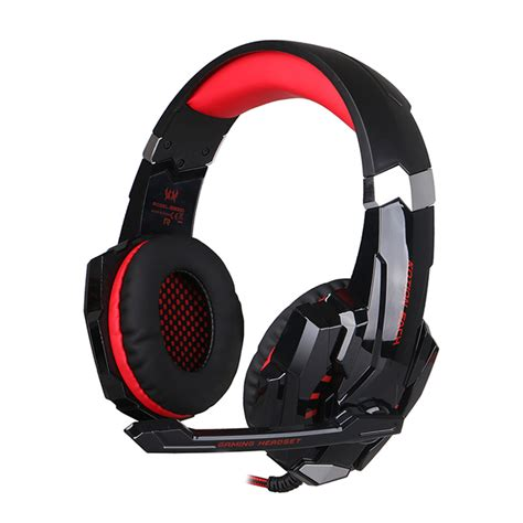 Headset Gaming Kotion Each G9000 3 5mm Single With Led Murah Grosir Ob headphone transmitter picture more detailed picture
