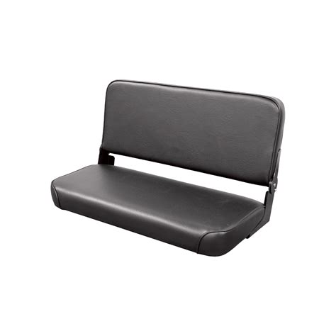 wise bench seat wise bench seat with folding back black model wm1663