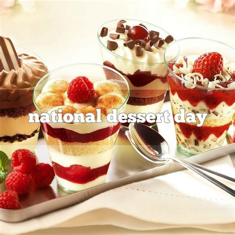 day deserts october 9 is national dessert day foodimentary
