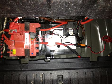 leaving boat battery charger plugged in jump starting the x3 why under the hood