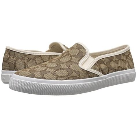 coach chrissy outline s slip on shoes 85 liked on
