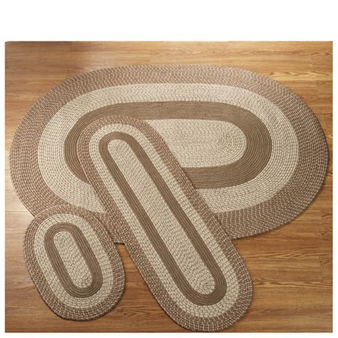 3 braided rug sets 3 reversible braided rug set color out of stock stoneberry