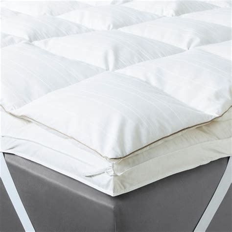 target bed toppers feather bed mattress topper fieldcrest target