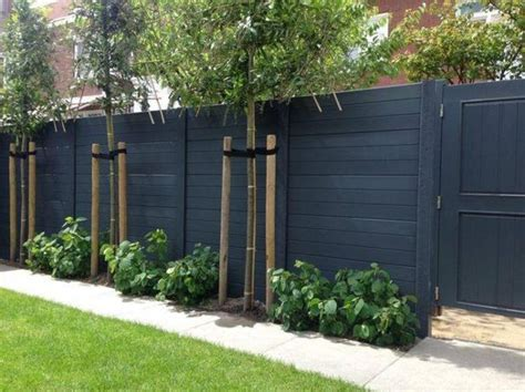 backyard fence styles 60 gorgeous fence ideas and designs wood fences black