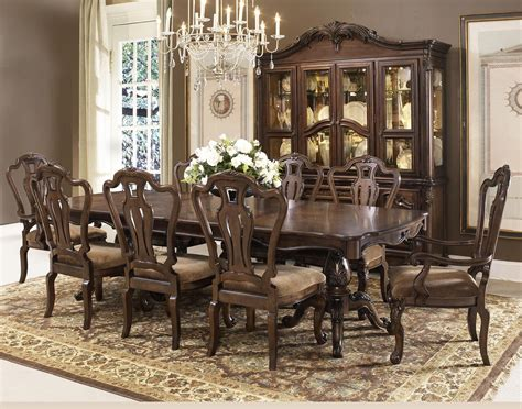 Fairmont Dining Room Sets Rochelle Chestnut Extendable Rectangular Leg Dining Room