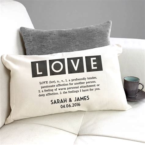 cusion meaning personalised vintage style definition of love cushion by