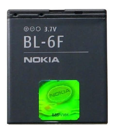 Baterai Log On Nokia Bl 5f nokia bl 6f battery 1200 mah for nokia n95 8gb n95 2 n78 n79 buy nokia bl 6f battery 1200 mah