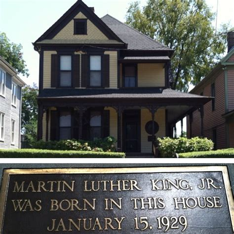 Martin Luther King Jr Was Born In The House January 15 1929 Instagram Photo By