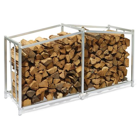 outdoor firewood storage rack plans