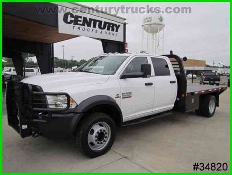 ram 5500 bed ram 5500 4x4 crew cab flat bed 2014 flatbeds rollbacks