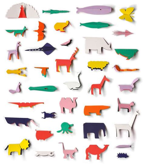 Origami Zoo Animals - paper animals manualidades zoos paper and